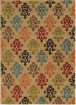 Oriental Weavers Emerson 4883b Tan/Multi Area Rug