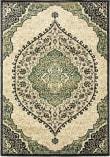 Oriental Weavers Evandale 9850b Ivory - Navy Area Rug