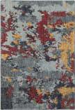 Oriental Weavers Evolution 8036c Blue - Red Area Rug