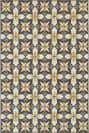Oriental Weavers Latitude 8021L Grey - Blue Area Rug