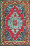 Oriental Weavers Joli 1331S Blue - Red Area Rug