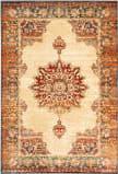 Oriental Weavers Juliette 8120W Gold - Orange Area Rug