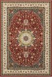 Oriental Weavers Kashan 119n Red - Ivory Area Rug