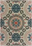 Oriental Weavers Latitude 1903W Grey - Blue Area Rug
