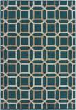 Oriental Weavers Latitude 806B3 Blue - Grey Area Rug