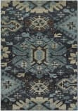 Oriental Weavers Linden 4302A Navy - Blue Area Rug