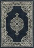 Oriental Weavers Linden 7937A Navy - Grey Area Rug