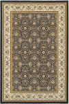 Oriental Weavers Masterpiece 1331B Navy - Ivory Area Rug