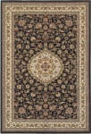 Oriental Weavers Masterpiece 33B Black - Ivory Area Rug