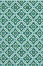Oriental Weavers Meridian 5868L Blue Area Rug