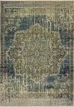Oriental Weavers Raleigh 6649H Blue - Ivory Area Rug