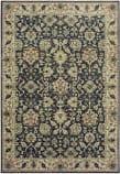 Oriental Weavers Raleigh 8026P Navy - Ivory Area Rug