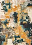 Oriental Weavers Sedona 9593A Blue - Gold Area Rug