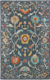 Oriental Weavers Zahra 75501 Blue - Gold Area Rug