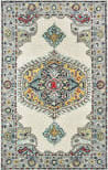 Oriental Weavers Zahra 75505 Ivory - Grey Area Rug