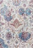 Rizzy Princeton Pri110 Cream - Blue Area Rug