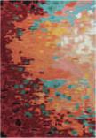 Rizzy Connie Post Cnp101 Orange Area Rug