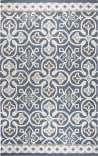 Rizzy Opulent Ou574a Blue - Grey Area Rug