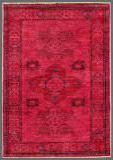 Rugstudio Overdyed Red 2' 9'' x 4' 1'' Rug