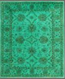 Rugstudio Overdyed Green 5' 8'' x 7' Rug