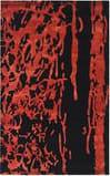 Safavieh Soho SOH326B Black / Red Area Rug