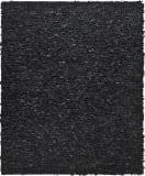 Safavieh Leather Shag Lsg511a Black Area Rug