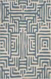 Safavieh Amsterdam Ams106c Ivory - Light Blue Area Rug
