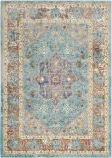 Safavieh Aria Ara100b Blue - Creme Area Rug