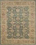 Safavieh Antiquity AT849B Teal Blue - Taupe Area Rug