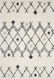 Safavieh Berber Shag Ber164d Cream - Navy Area Rug