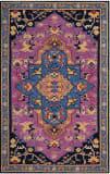Safavieh Bellagio Blg506a Pink - Multi Area Rug