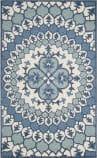 Safavieh Bellagio Blg610g Ivory - Blue Area Rug
