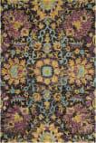 Safavieh Blossom BLM455A Charcoal - Multi Area Rug