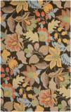 Safavieh Blossom BLM863C Black / Multi Area Rug