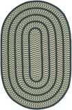 Safavieh Braided Brd401b Ivory / Dark Green Area Rug