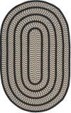 Safavieh Braided Brd401c Ivory / Black Area Rug