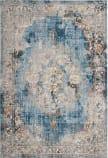 Safavieh Bristol BTL343C Blue - Light Grey Area Rug