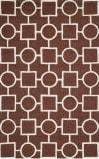 Safavieh Cambridge Cam143h Dark Brown - Ivory Area Rug