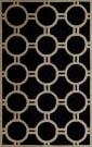 Safavieh Cambridge CAM145E Black / Ivory Area Rug