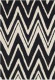 Safavieh Cambridge Cam711k Black - Ivory Area Rug