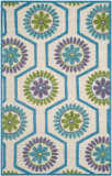Safavieh Cambridge Cam716a Ivory - Blue Area Rug