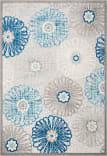 Safavieh Cabana Cbn801f Grey - Blue Area Rug