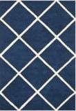 Safavieh Chatham Cht720c Dark Blue / Ivory Area Rug