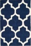 Safavieh Chatham Cht733c Dark Blue / Ivory Area Rug