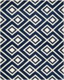 Safavieh Chatham CHT742C Dark Blue / Ivory Area Rug