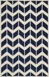 Safavieh Chatham Cht746c Dark Blue / Ivory Area Rug