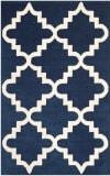 Safavieh Chatham Cht753c Dark Blue - Ivory Area Rug