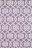 Safavieh Chatham Cht754f Purple - Ivory Area Rug