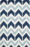 Safavieh Chatham Cht756n Dark Blue - Light Blue Area Rug