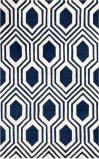 Safavieh Chatham Cht760c Dark Blue - Ivory Area Rug